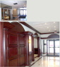 Zydus Foyer Renovation Before and After